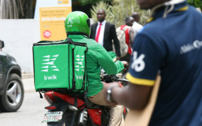 Kwik Delivery Riders are now on the road